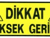 DIKKAT YUSEK GERILIM TMP1815