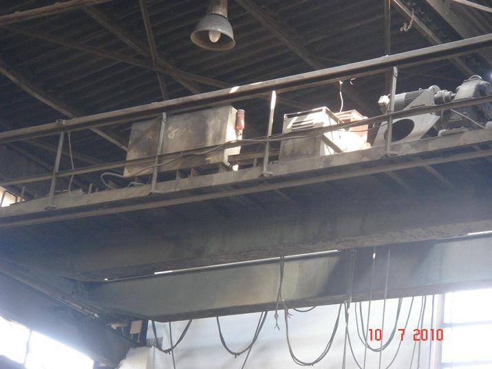 Resim 2 : Dökümhanede tavan altı vinç